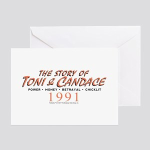 Portlandia Story Of Toni And Candace Greeting Card