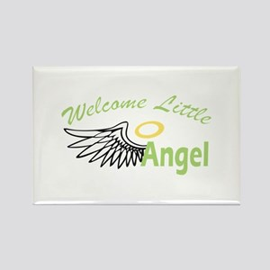 WELCOME LITTLE ANGEL Magnets