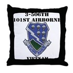 3-506TH CURRAHEE Throw Pillow