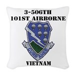 3-506TH CURRAHEE Woven Throw Pillow