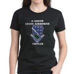 3-506TH CURRAHEE Women's Dark T-Shirt