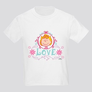 Peanuts - Sally Brown Love Kids Light T-Shirt