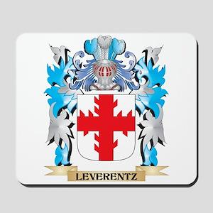 Leverentz Coat of Arms - Family Crest Mousepad