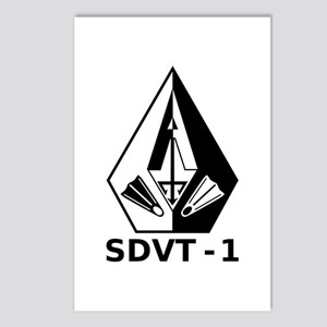 A SDVT-1 (BW) Postcards (Package of 8)