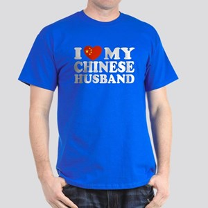 I Love My Chinese Husband Dark T-Shirt