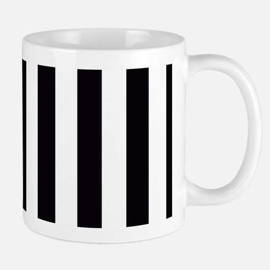 With A Pink Stripe Mugs