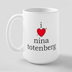 Nina Totenberg Large Mug