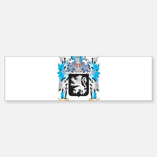 Lewis Coat of Arms - Family Crest Bumper Bumper Bumper Sticker