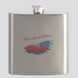 THE LAKE IS CALLING Flask