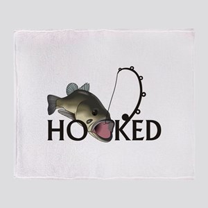 HOOKED Throw Blanket