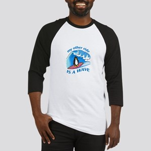 OTHER RIDE IS A WAVE Baseball Jersey
