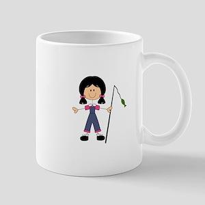 STICK FISHERGIRL Mugs