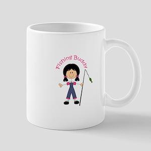 STICK FISHING BUDDY Mugs