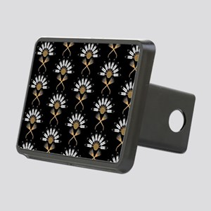 Eagle Feather Fan Rectangular Hitch Cover