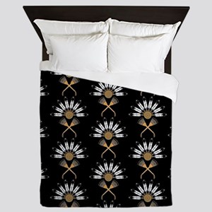 Eagle Feather Fan Queen Duvet