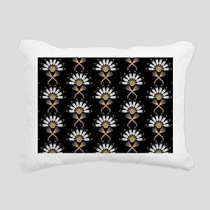 Eagle Feather Fan Rectangular Canvas Pillow