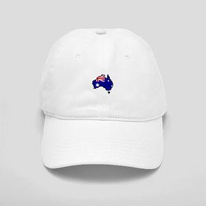 AUSTRALIA MAP FLAG Baseball Cap