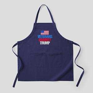 Veterans Against Trump Apron (dark)