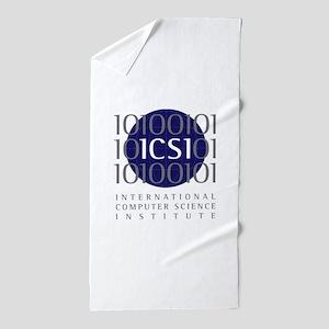 ICSI_logo Beach Towel