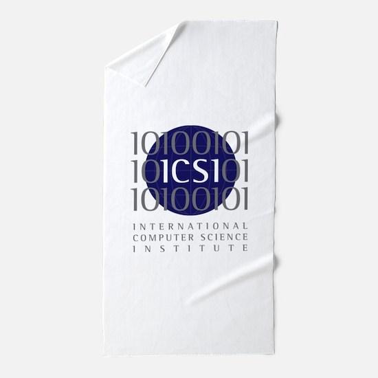 ICSI_logo.png Beach Towel