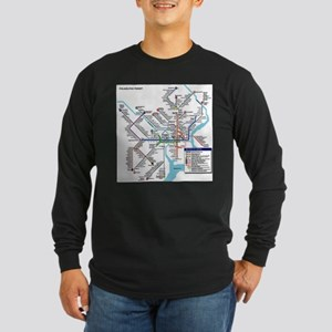 Pennsylvania Public Transporta Long Sleeve T-Shirt