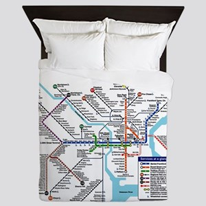 Pennsylvania Public Transportation Tra Queen Duvet
