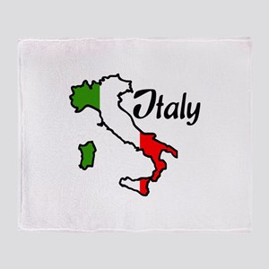 ITALY Throw Blanket