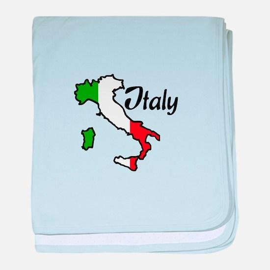 ITALY baby blanket