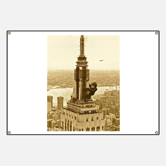 King Kong: Empire State Building Banner