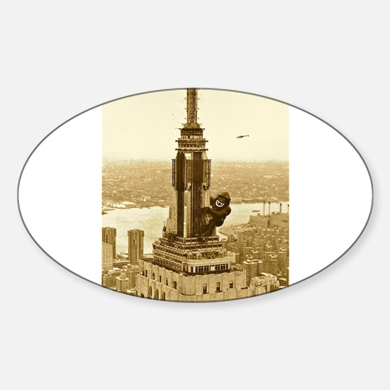 King Kong: Empire State Building Decal