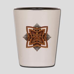 Art Deco Brooch Shot Glass
