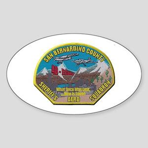 San Bernardino Sheriff Aero Squadron Sticker