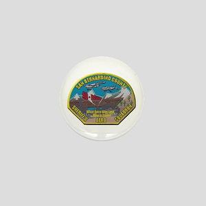 San Bernardino Sheriff Aero Squadron Mini Button