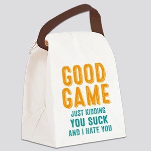 Good Game You Suck Canvas Lunch Bag