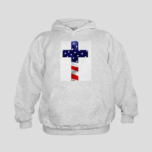 One nation under God Kids Hoodie