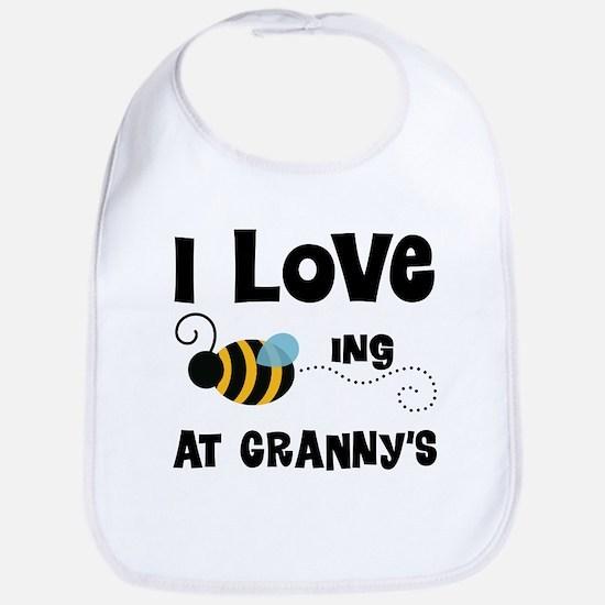 Granny's House Grandkid bee Baby Bib