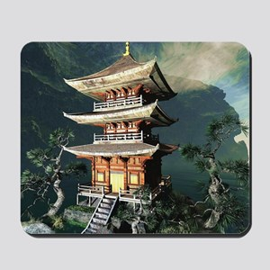 Asian Temple Mousepad