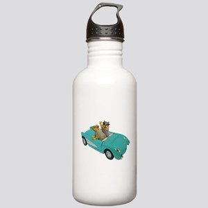 Squirrels Car Stainless Water Bottle 1.0L