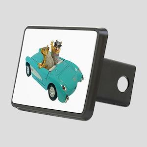 Squirrels Car Rectangular Hitch Cover