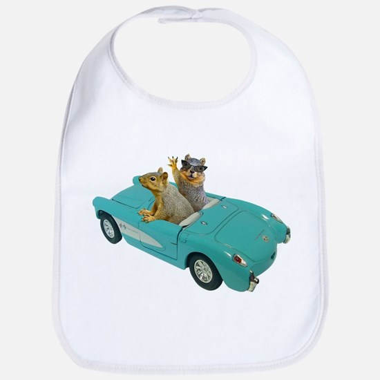 Squirrels Car Bib