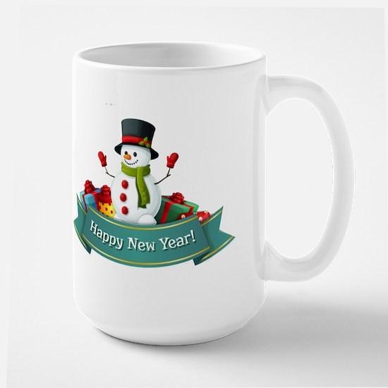 Happy New Year! Large Mug