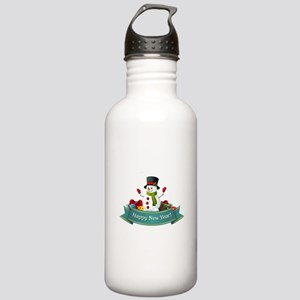 Happy New Year! Stainless Water Bottle 1.0L