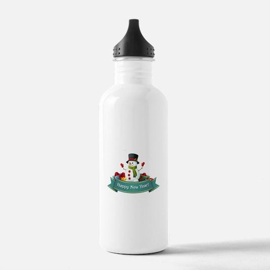 Happy New Year! Water Bottle
