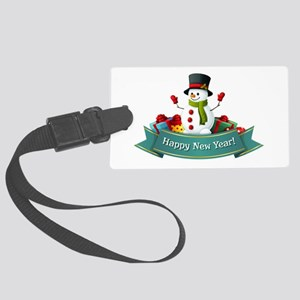 Happy New Year! Large Luggage Tag