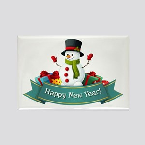 Happy New Year! Rectangle Magnet