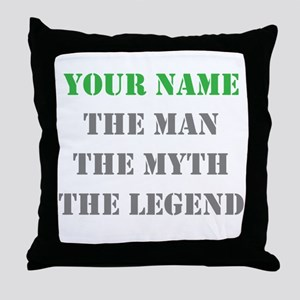 LEGEND - Your Name Throw Pillow