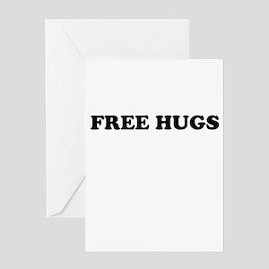 Free Hugs Greeting Cards