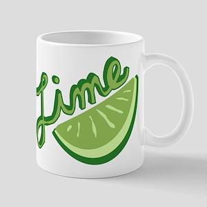 Cute Lime Slice Mug