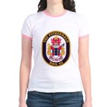 USS FITZGERALD Jr. Ringer T-Shirt