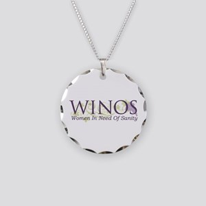 Winos Necklace Circle Charm
